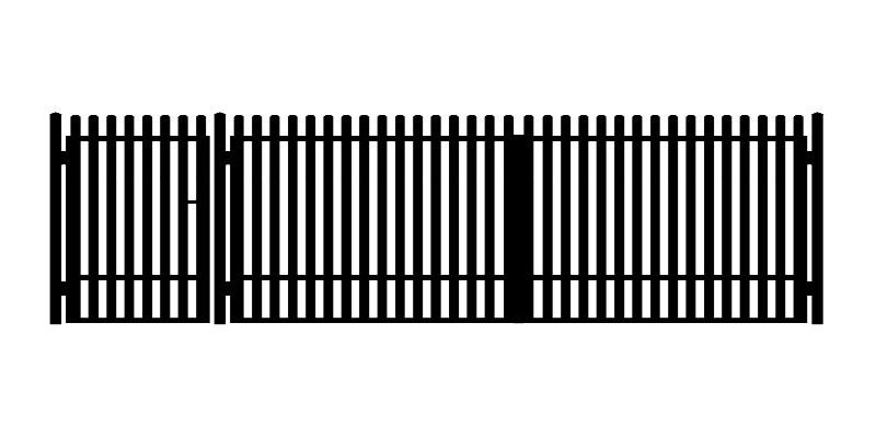 BRAMA SKRZYDŁOWA A19