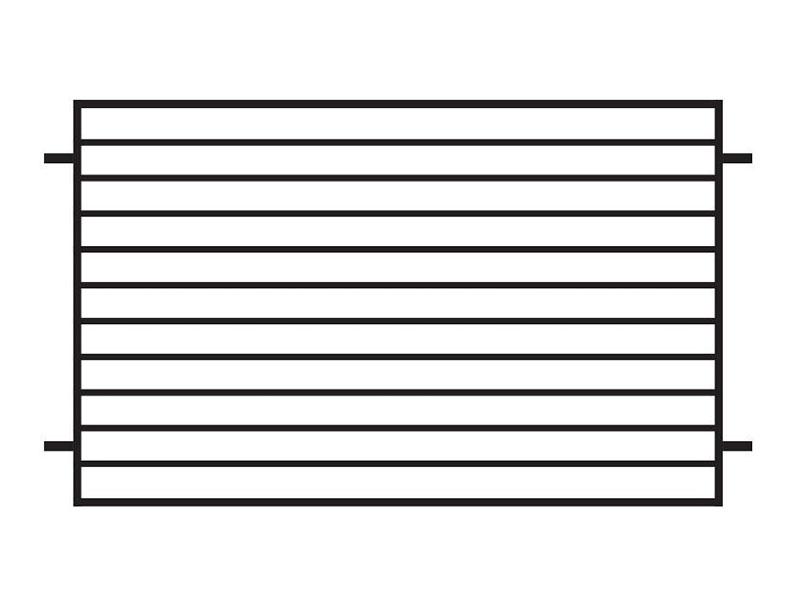 PRZĘSŁO OGRODZENIOWE - P25B